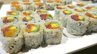 100 PLATES OF SUSHI!