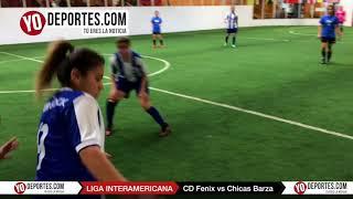 CD Fenix vs Chicas Barza Liga Interamericana