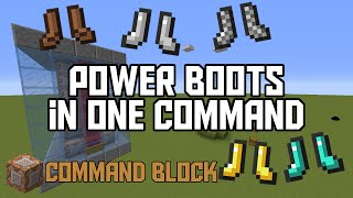 getlinkyoutube.com-Minecraft: Power Boots in One Command