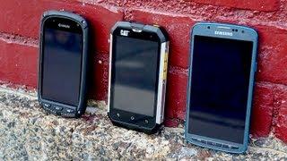 CAT B15 vs Galaxy S 4 Active, Kyocera Torque, & more