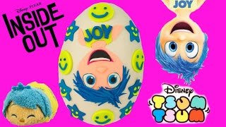 getlinkyoutube.com-Disney Pixar's Inside Out Joy Play Doh Surprise Egg! Deluxe Figurine Playset! Blind Bags! Shopkins!