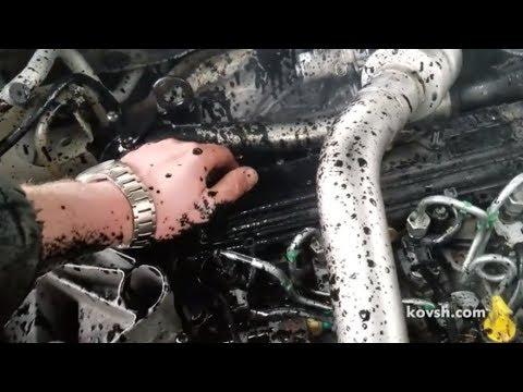 Картерные газы привели к попаданию масла в цилиндр, Renault Megane II 1.5d, K9K