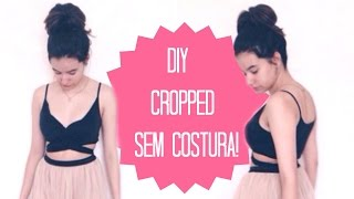 getlinkyoutube.com-DIY: Cropped Sem Costura