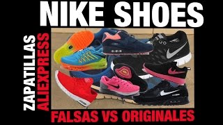 getlinkyoutube.com-Nike Aliexpress Falsas vs Originales | Fake Nike shoes