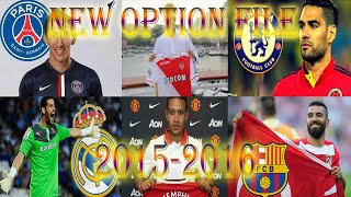 NEW OPTION FILE 2015/2016 [PES2013]