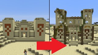 getlinkyoutube.com-Let's Transform a Minecraft Desert Temple!
