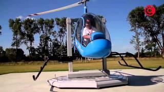 getlinkyoutube.com-CICARE SVH4 Helicopter Trainer