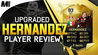 getlinkyoutube.com-FIFA 16 UPGRADED HERNANDEZ REVIEW (83) FIFA 16 Ultimate Team Player Review + In Game Stats