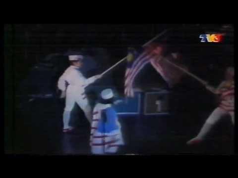 Konsert Gergasi Sudirman di Jalan Chow Kit 1986