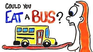 getlinkyoutube.com-Can You Actually Eat A Bus?