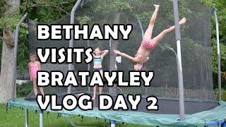 getlinkyoutube.com-Bethany Visits Bratayley Vlog - Day 2