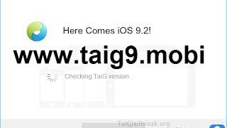 getlinkyoutube.com-Untethered iOS 9.3.2 Jailbreak TaiG iOS 9.3.1 / 9.3.2 / 9.3.3 Compatible Jailbreak Tool