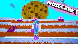 getlinkyoutube.com-Cookieswirlc Plays Minecraft Candy Sugar Land Gaming Cake World Giant Cookie Building