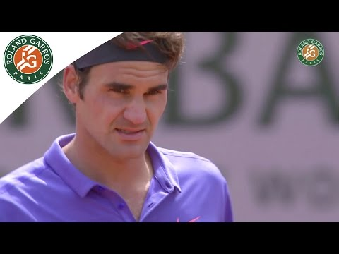 R. Federer v. D. Dzumhur 2015 French Open Men`s R32 Highlights