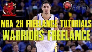 NBA 2k16 Freelance Tutorials: Warriors Freelance