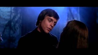 """getlinkyoutube.com-Star Wars VI: Return of the Jedi - """"The Force is strong in my family"""" (Force Theme, Luke and Leia)"""