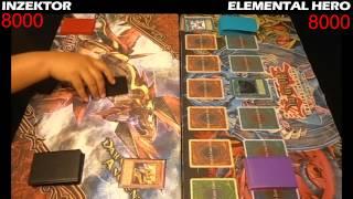 getlinkyoutube.com-Yugioh Duel: Elemental Hero vs Inzektor - Round 1