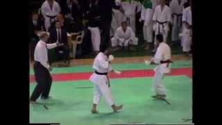 Salim Echchaqrouni - Incontri di kumite