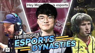 The Biggest Dynasties in esports, and Why We Need Them