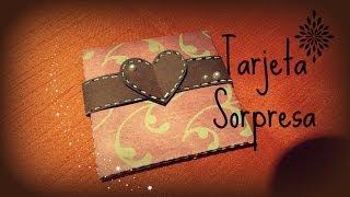 getlinkyoutube.com-Manualidades: tarjeta del dia de los enamorados