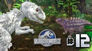 getlinkyoutube.com-Anklysaur VS Indominus!! Jurassic World LEGO Game - Ep12