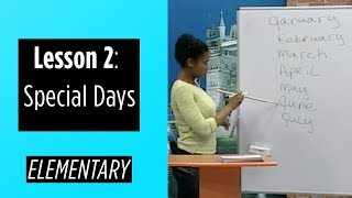 getlinkyoutube.com-Elementary Levels - Lesson 2: Special Days