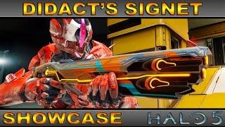 getlinkyoutube.com-Didact's Signet - Legendary Weapon Showcase - Halo 5 Guardians