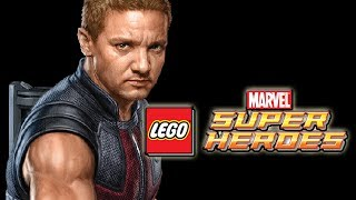 getlinkyoutube.com-LEGO Marvel Superheroes: Hawkeye + SkyCycle Gameplay