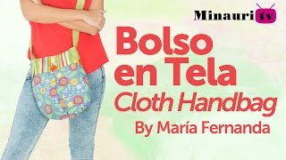 getlinkyoutube.com-DIY - Fabric Handbag - Bolso en Tela #13  by Minauri ( How to / Hazlo tú )