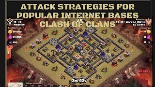 getlinkyoutube.com-IBB: (The Tailor) GoHo - How to beat Popular Clash of Clans Bases