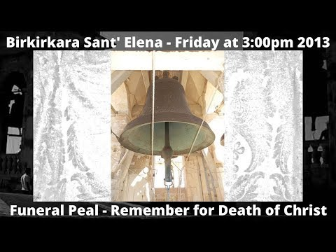 Birkirkara (Malta) Collegiate Basilica St. Helen - Funeral Bells LIBRA - 2013 7 Bells - Item 13