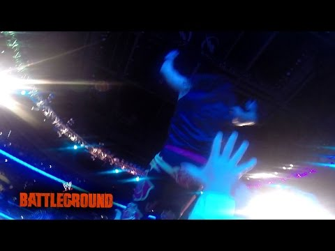 A look from The Rosebuds' point of view: WWE Battleground 2014 - GoPro Video