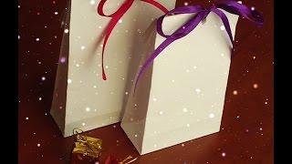 getlinkyoutube.com-Как сделать пакет из бумаги своими руками. Рaper bag