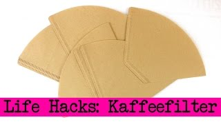 getlinkyoutube.com-Life Hacks Top 4: Kaffee Filter - Aufbewahrung, Geschenkideen, Tipps & Tricks - DIY