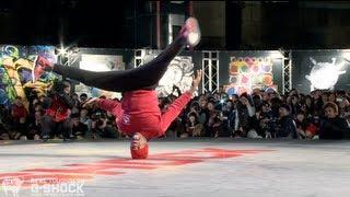 PradaG & Smurf vs Stripes & Tata G-SHOCK REAL TOUGHNESS Japan 2012 | YAK FILMS