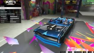getlinkyoutube.com-My Custom Lowrider Buccaneer (Grand Theft Auto 5)