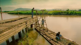 getlinkyoutube.com-Building The Bridge - Top Gear - Series 21 Burma Special - BBC