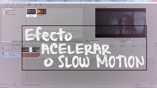 getlinkyoutube.com-¿Como acelerar un video o hacer slow motion en sony vegas 12?