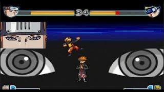 getlinkyoutube.com-Pain vs Naruto (Kyuubi and Regular) - Bleach vs Naruto 2.1