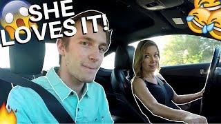 I LET MY MOM DRIVE MY CAR?!