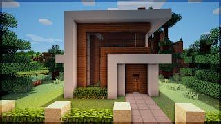 getlinkyoutube.com-Minecraft: Construindo uma Pequena Casa Moderna 6