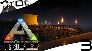 getlinkyoutube.com-ARK SURVIVAL EVOLVED | BOAT DOCK DESIGN! | Episode 3 (Gameplay Pooping Evolved Server)