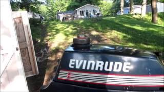 getlinkyoutube.com-Free 1987 3 hp evinrude outboard motor: will it run?