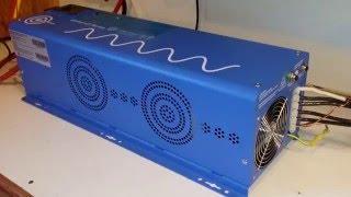 getlinkyoutube.com-AIMS 6000 watt 220 Split Phase Inverter - Home Emergency Backup Power