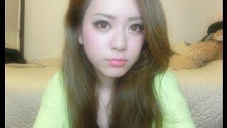 getlinkyoutube.com-通常目からデカ目になるメイクpart2 ~big eye make up  part2~