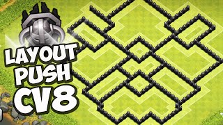 getlinkyoutube.com-O MEU LAYOUT DE PUSH CV8 - CLASH OF CLANS