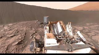 getlinkyoutube.com-NASA's Curiosity Mars Rover at Namib Dune (360 view)