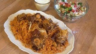 getlinkyoutube.com-مطبخ الاكلات العراقيه - تمن احمر ( رز احمر)