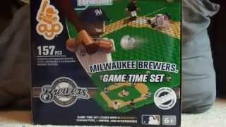 getlinkyoutube.com-Milwaukee Brewers OYO Game Time Set Unboxing & Review
