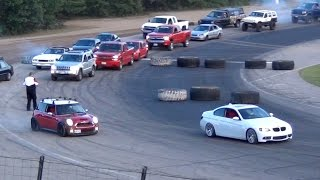 getlinkyoutube.com-Frontstretch Street Drags at Beech Ridge Motor Speedway Car Wars